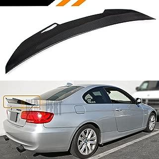 Cuztom Tuning Fits for 2007-2013 BMW E92 3 Series Coupe & M3 2 Door True Highkick Duckbill Carbon Fiber Trunk Spoiler Wing