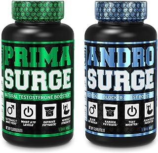 Androsurge Estrogen Blocker for Men, PRIMASURGE Testosterone Booster for Men