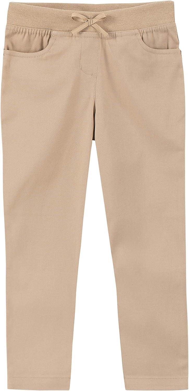 Nautica San Francisco Mall Girls' Year-end annual account School Uniform Skinny Pant Stretch Twill Fit