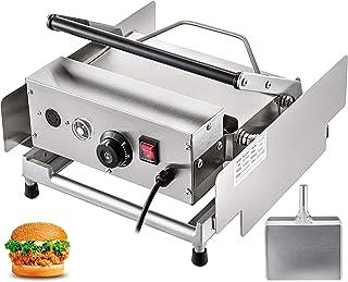 Machabeau 220V Burger Grill pour 6 Hamburgers de Cuire Presse à Hamburger Professionnel Inox Toaster Hamburger pour Faire ...