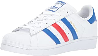 adidas superstar red white and blue