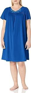 Women's Plus-Size Petals 40 Inch Short Flutter Sleeve Waltz Gown