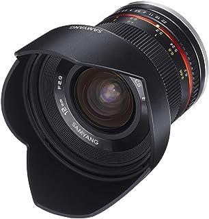 Samyang CSC-Mirrorless - Obiettivo fotografico (12mm, F2.0 NCS, CS), nero