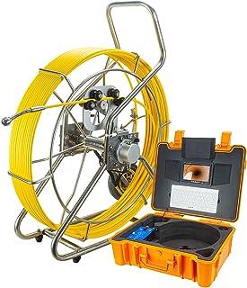 HBHYQ Endoscopio de Tubo de Pantalla Grande de 9 Pulgadas, cámara de inspección de Cuentas, Detector Interno de tubería, d...