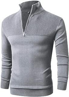 Mens Longline Sweatshirt Sweater Crew Neck Pullover Jumper Lightweight Fleece