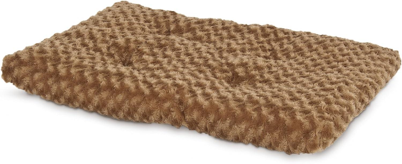 Petmate Plush Kennel Mat, Tobacco Brown, 41.5 x 26.5 90125 lb