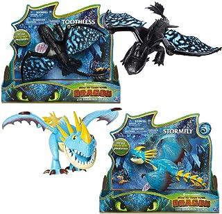 Bizak Dragons Grimmel e Deathgripper Figurina Dragone Articolato e Vikingo Versione Spagnola 61926547 Multicolore
