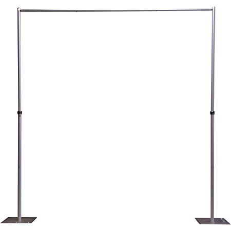OnlineEEI Adjustable Height Upright Pipe for use with Pipe and Drape Systems 7-12 ft