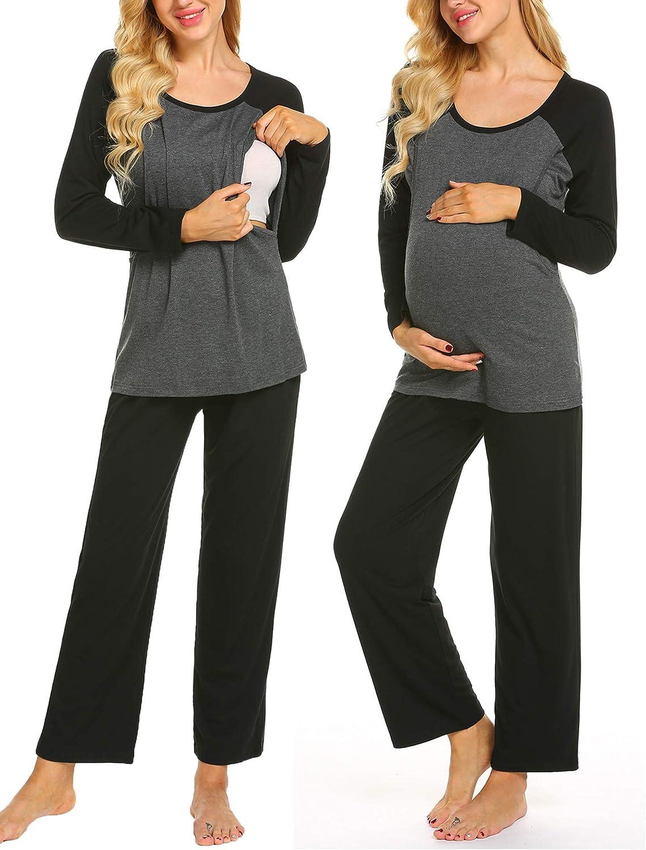 Ekouaer Maternity Pajama Sets Sale 3 in PJS Nursing Long-awaited Delivery 1 Labor