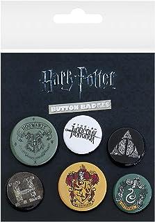 Harry Potter GB Eye, Mix, Set de Boutons,