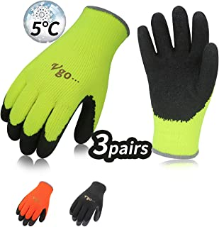 Vgo 3Pares 0℃ o superior 3M Thinsulate C40 Guantes de
