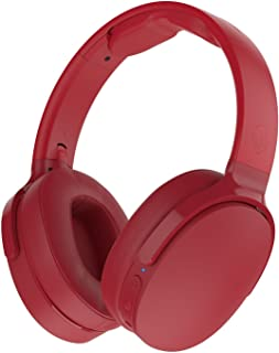 Skullcandy S6HTW-K613 Skullcandy Hesh 3 Foldable Wireless Bluetooth Over-Ear Headphones with Microphone - Red - Red/Red (Pack of1)