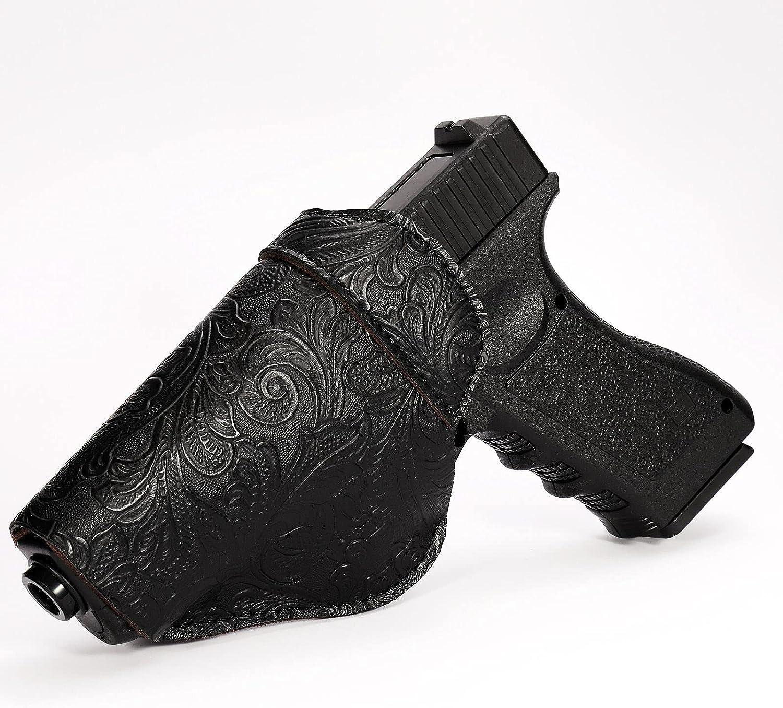 Glock 17 19 Leather Gun Holster Inside Waistband Finally popular brand - Concealed Cheap SALE Start to