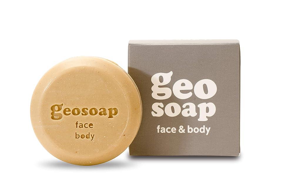 ミルク社員くしゃみgeosoap(ジオソープ) face&body(フェイス&ボディ) フェイス?ボディ 固形ソープ 117g
