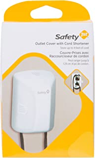 Safety 1st Outlet Cover with Cord Shortener for Baby Proofing