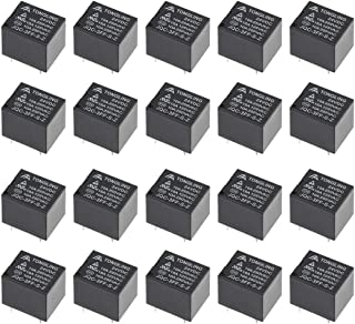 uxcell 20 Pcs JQC-3FF-S-Z DC 24V Coil SPDT 5 Pin PCB Electromagnetic Power Relay