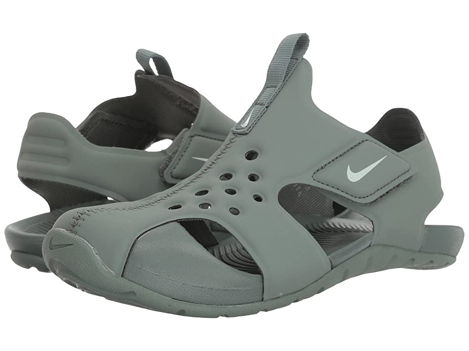 Nike Kids Sunray Protect 2 (Little Kid) (Clay Green/Barely Grey) Boys Shoes