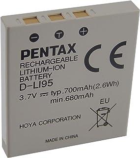 vhbw Li-Ion Batería 700mAh (3.7V) para Cámara Videocámara Pentax Optio S5i S5n S5z S6 S7 SV SVi T10 T20 W10 W20 por D-Li8 D-Li95 NP-40.