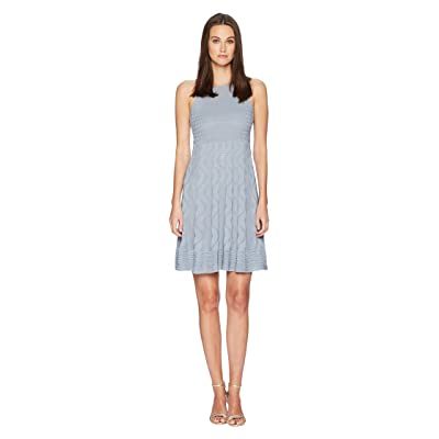 M Missoni Solid Knit Dress (Gray) Women