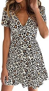 1d16f49280 Vestido para Mujer, Vestidos Mujer Casual Verano 2019 Boho Vestidos Cortos  Mujer Verano Vestido Playa