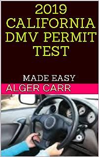 2019 CALIFORNIA DMV PERMIT TEST: MADE EASY