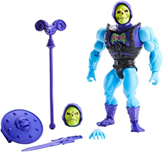 Masters of The Universe Origins Deluxe Skeletor Action Figure, 5.5-in Battle Character for Storytelling Play and Display, ...