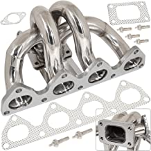 For Honda Prelude Bb1 Bb6 H22 2.2L Racing Stainless Steel T3 T4 Turbo Manifold Exhaust Header