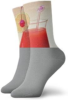 Luxury Calcetines de Deporte Unisex Tube Socks Crew Fruit Juice Over Calf Comfort Stockings For Sport Travel
