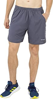 MIER Men's Quick Dry Workout Running Shorts Active Shorts with 4 Pockets, No Liner, Lightweight and Water Resistant, 7 Inches