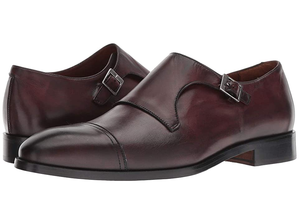 Massimo Matteo Monk Cap Toe (Bordo) Men