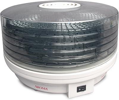 Aroma Housewares AFD-615 - Deshidratador giratorio de alimentos (5 niveles)