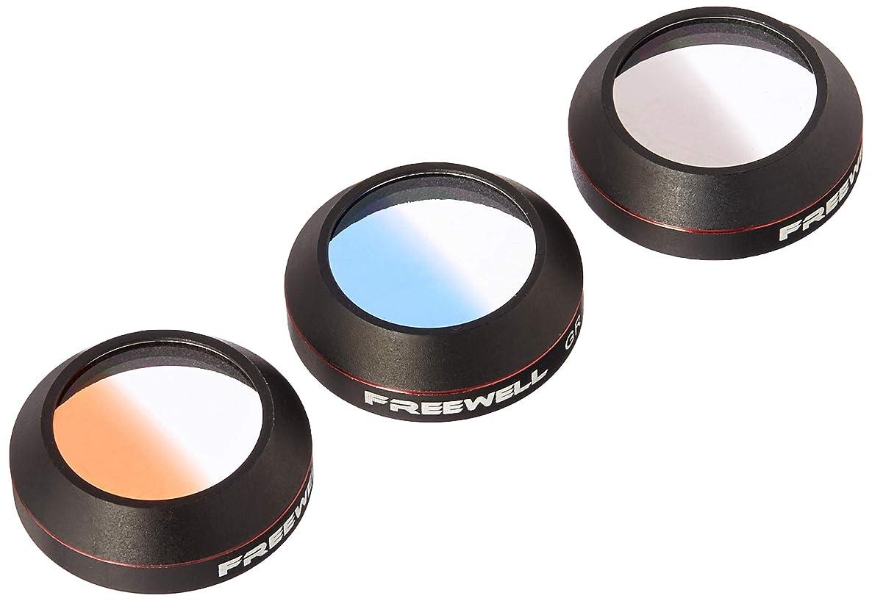 Freewell Grey Grad/Blue Grad/Orange Grad Filter 3-Pack Compatible With DJI Mavic Pro /Platinum /Alpine White