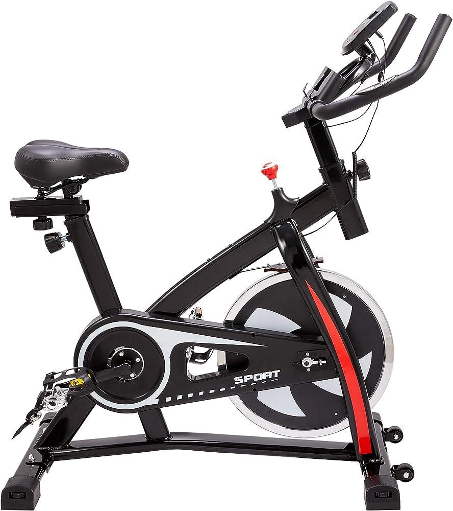 Z zelus cyclette fitness, bici da spinning professionale, volano da 10kg