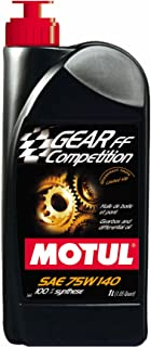 Motul 823511 Gear FF Competition 75W140 100 Percent Synthetic Ester Based Racing Lubricant for Limited Slip Differential (LSD) - 1 Liter