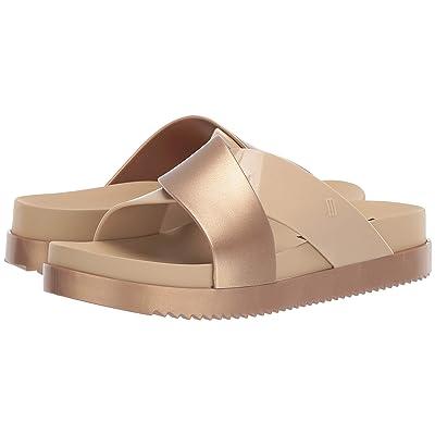Melissa Shoes Cosmic II (Beige/Gold) Women