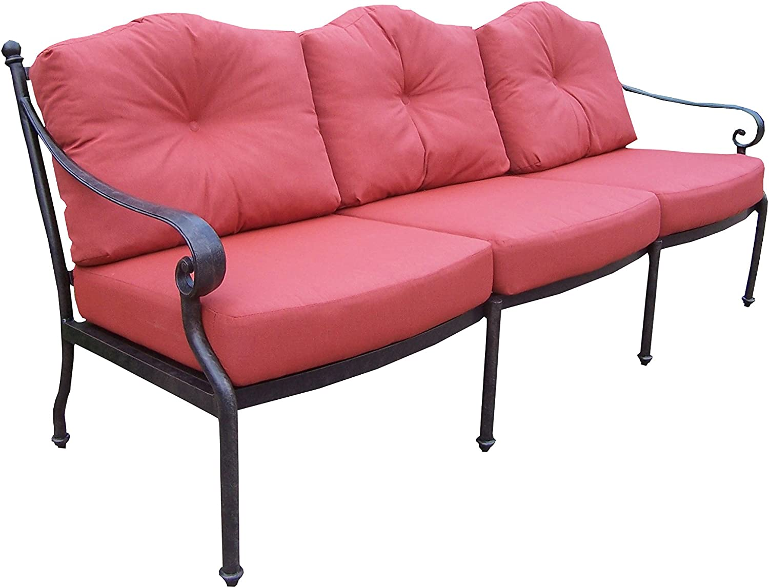 Oakland Living Berkley Deep Sitting with Cushions Spounpoly Low price Sofa shopping
