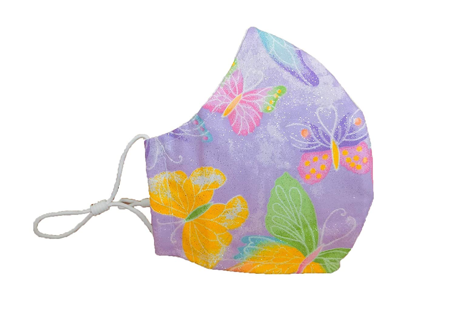 Butterfly Face Mask for Industry No. 1 Kids Boys Spring new work purple Girls print