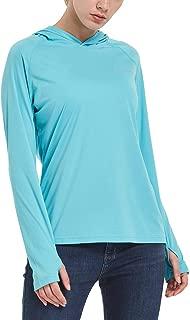 BALEAF Women's UPF 50+ Hoodies Long Sleeve Performance Athletic Sweatshirts&Hooded Shirts