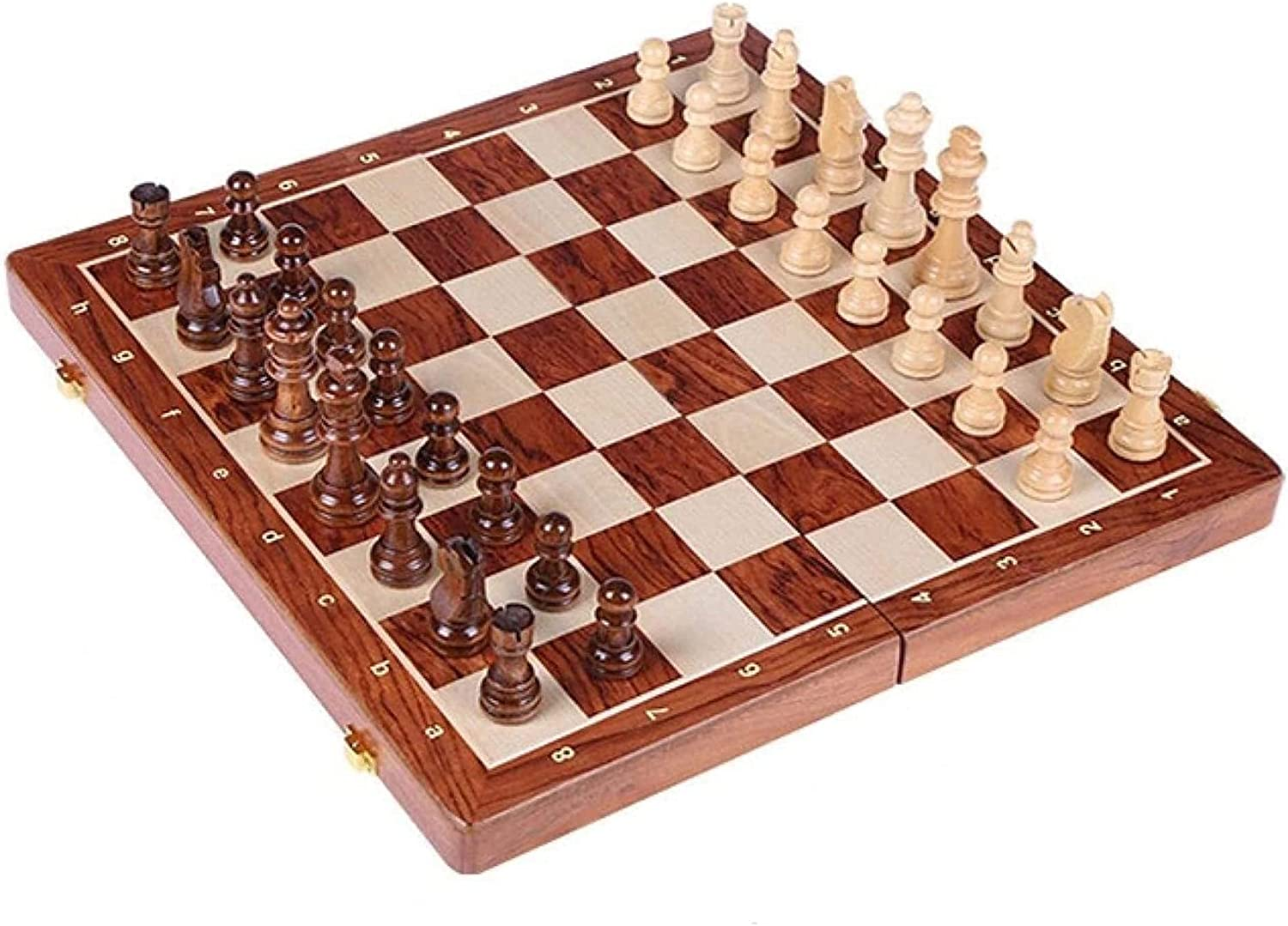 MTCWD Artisanal Wooden Free Shipping New Chess Portable W Foldable Set 5 ☆ very popular