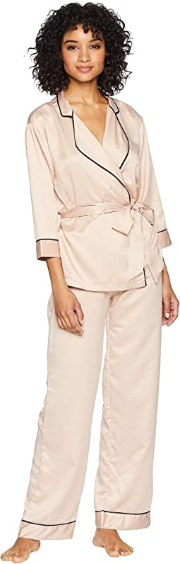 Wren Kimono and Trousers Set