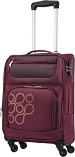 Kamiliant by American Tourister Koti Softside Spinner Luggage 66cm with 3 digit Number Lock - Burgundy