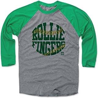 500 LEVEL Rollie Fingers Shirt - Vintage Oakland Baseball Raglan Tee - Rollie Fingers Threads