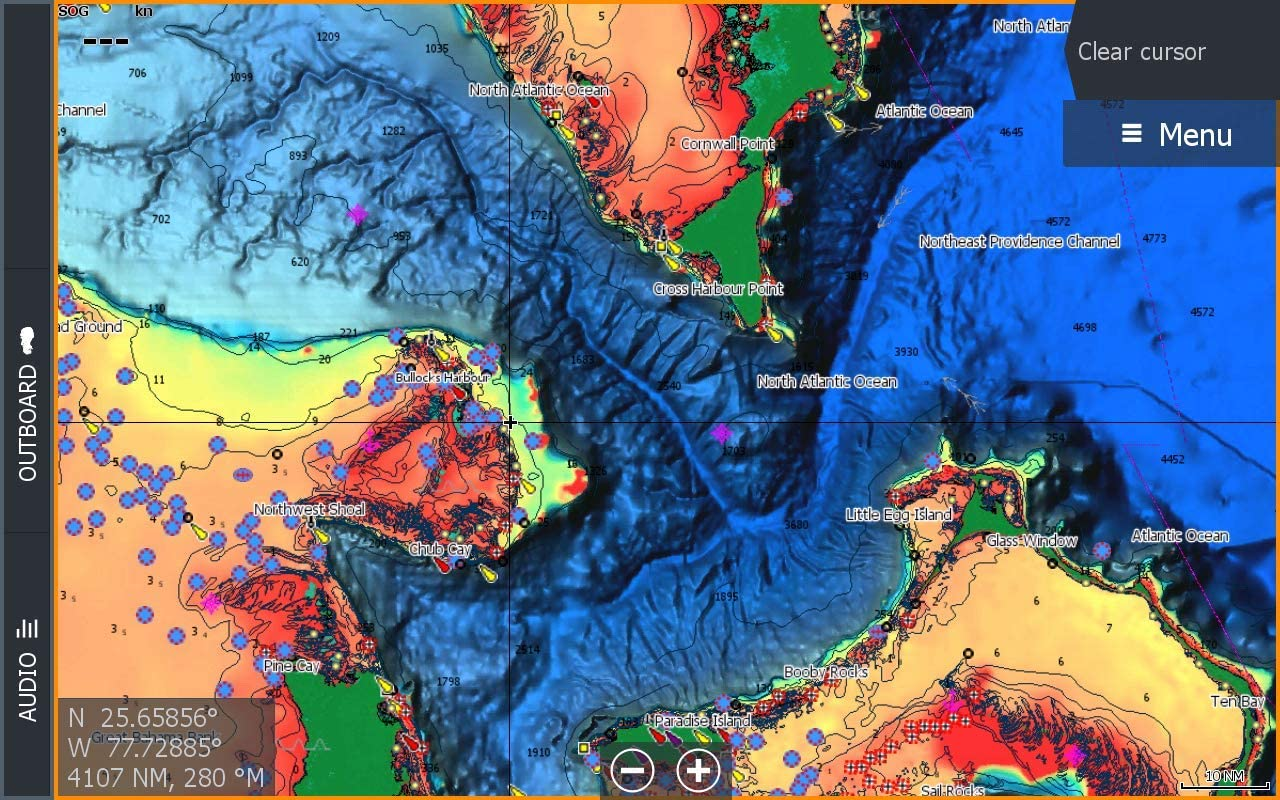 C-MAP Reveal Coastal - Canada North and East, Map Card for Marine GPS Navigation