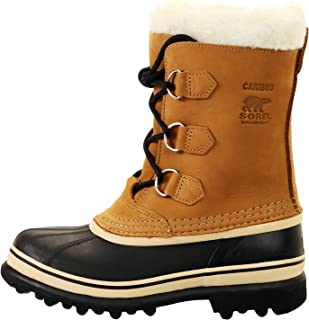 SOREL - Youth Caribou Waterproof Winter Boot for Kids with Fur Snow Cuff