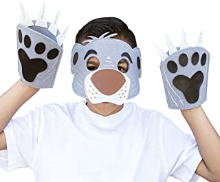 Seedling Disney's The Jungle Book Design Your Own Bear Mask & Paws Kit