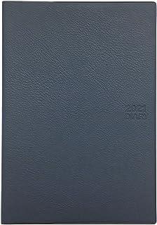 生産性手帳 2021年 マンスリー A5月間ブロック薄型 紺 No.519 (2020年12月始まり)
