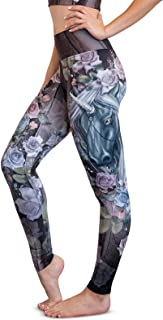 Athleisure - Spooky Vibes - Squat Proof High Waist Tummy Control Performance Leggings Yoga Pants…