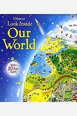 Look Inside Our World (Look Inside Board Books) Hardcover