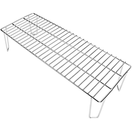 Grisun Grill Rack for Green Mountain Grill Daniel Boone Pellet Grill Grate, Stainless Steel Upper Rack, Warming Rack Accessories (22 x 8 x 4.7 Inches)