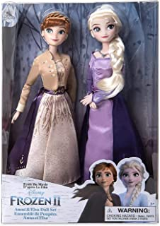 LE Anna and Elsa Doll Set – Frozen 2 - 11 1/2'' H Dolls